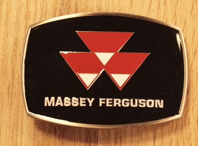 "Buckle  "" Massey Ferguson ""  zwart"