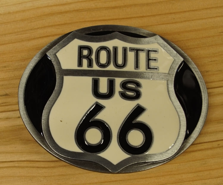 """Buckle  """" Route us 66 """""""