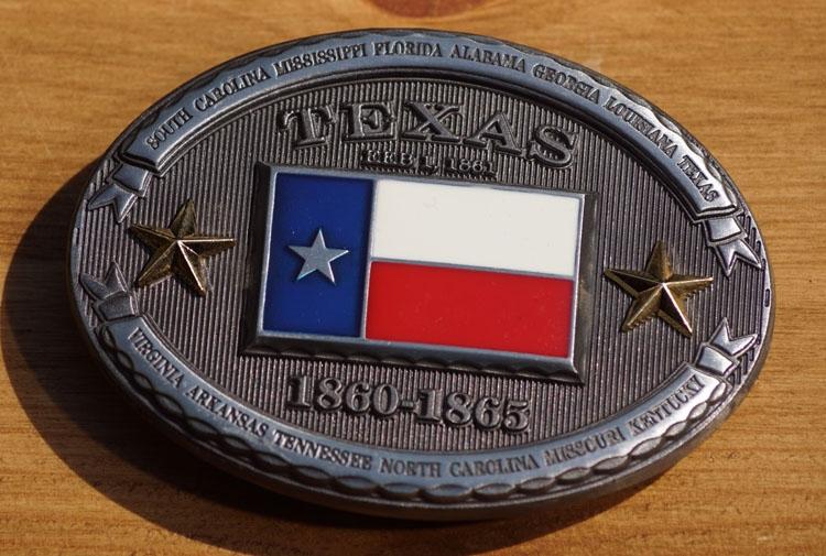 """Buckle  """" Texas  1860 - 1865 """""""