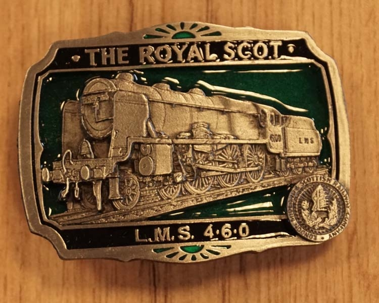 """Buckle  """" The royal scot L.M.S. 460  """""""