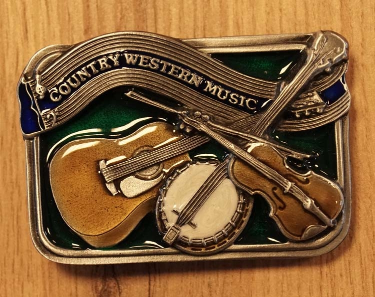 "Buckle "" Country western music ""  UITVERKOCHT"