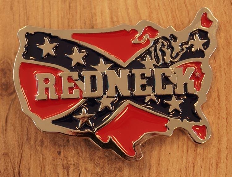 """Buckle / gesp  """"  Redneck """""""