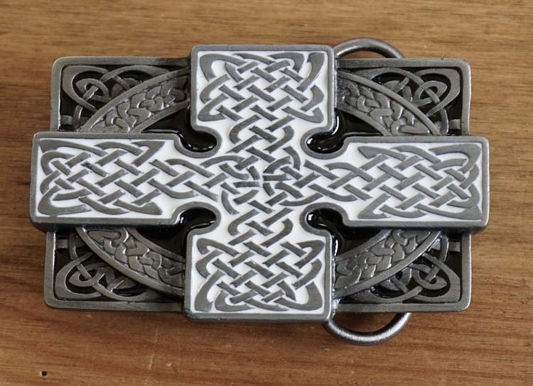"Buckle / gesp  "" Celtic cross """