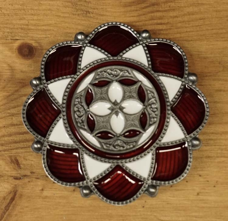 "Buckle / gesp  "" Celtic lotusbloem """