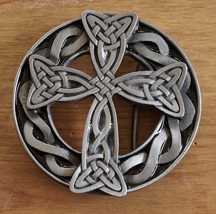 "Buckle / gesp  "" Keltisch kruis """