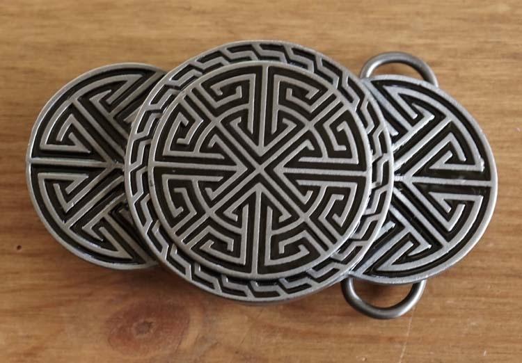 "Buckle / gesp  "" Keltisch symbool """