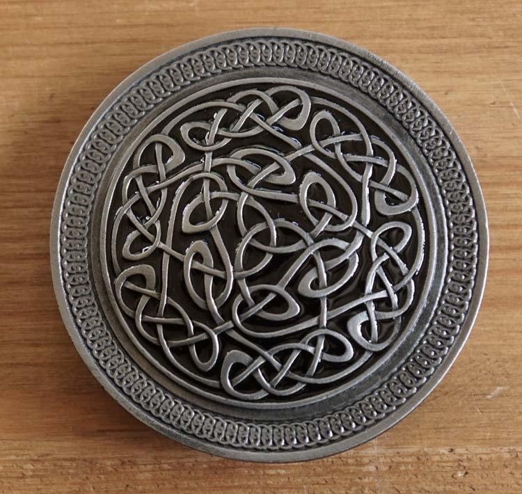 """Buckle / gesp  """" Keltisch tekens """""""