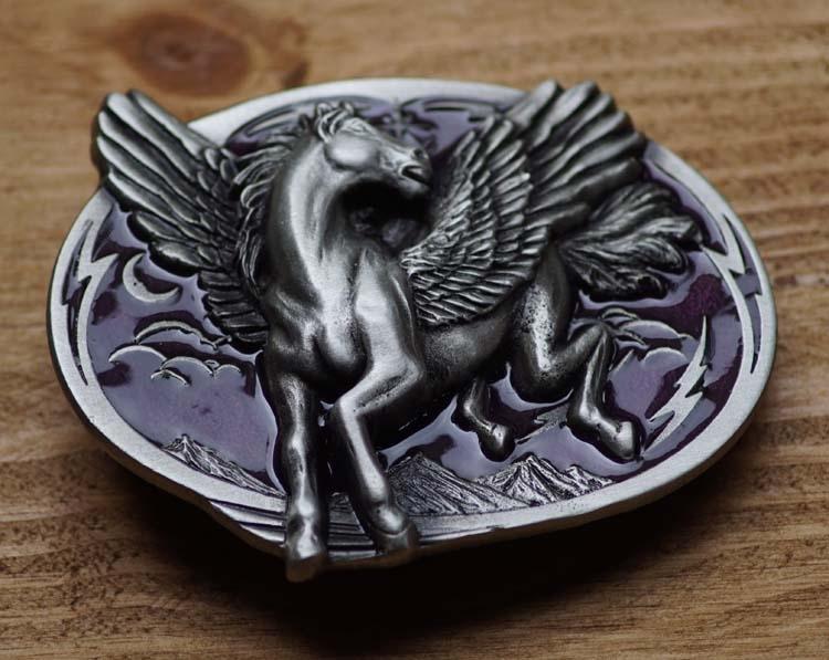 "Buckle / gesp  "" Pegasus ""  UITVERKOCHT"