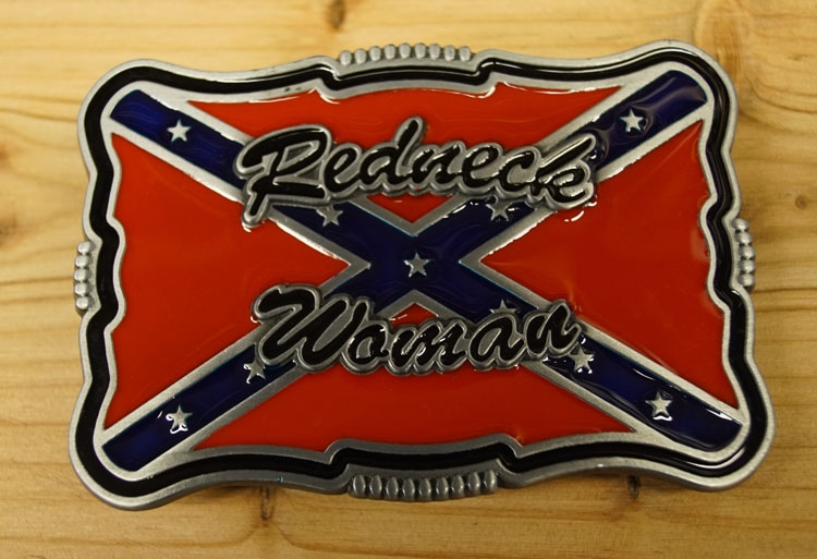 "Buckle / gesp  "" Redneck woman  """