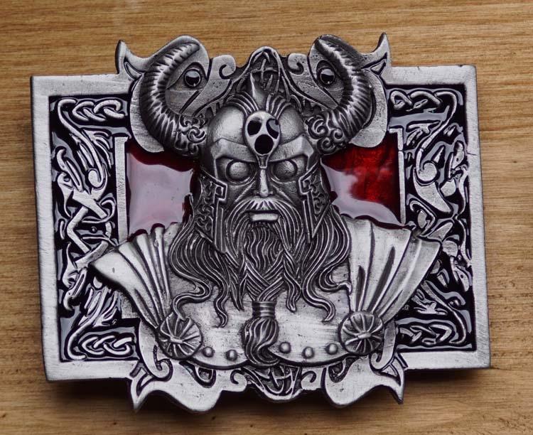 "Buckle / gesp  "" Viking krijger god """