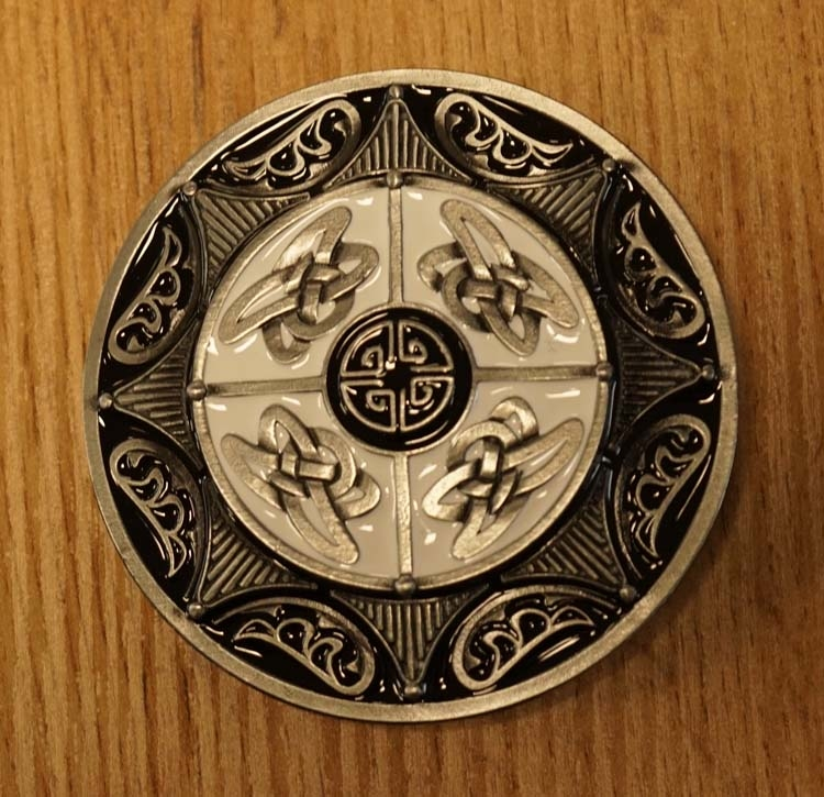 """Buckle / gesp """" 4 Keltische knopen """""""