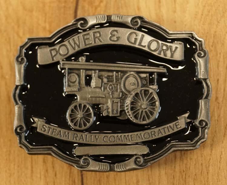 "Buckle "" Power & Glory steam rally commemoractive """