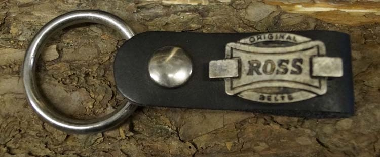 """Handdoek ring  """" Original ross """"  Zwart"""