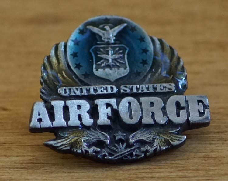 """Pin / speldje  """" United states Airforce """""""