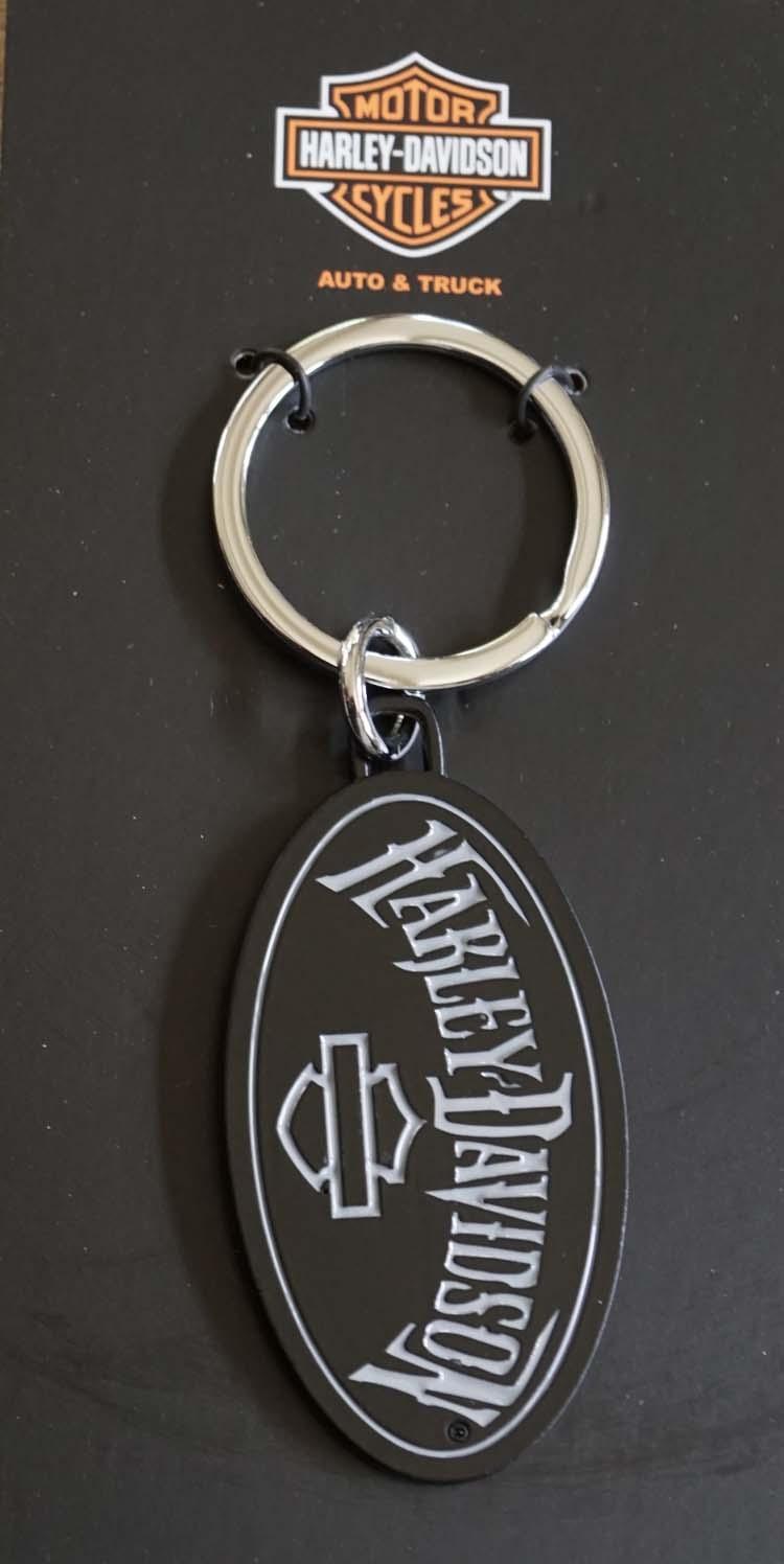 "Sleutelhanger  ""  Harley Davidson ""  zwart"