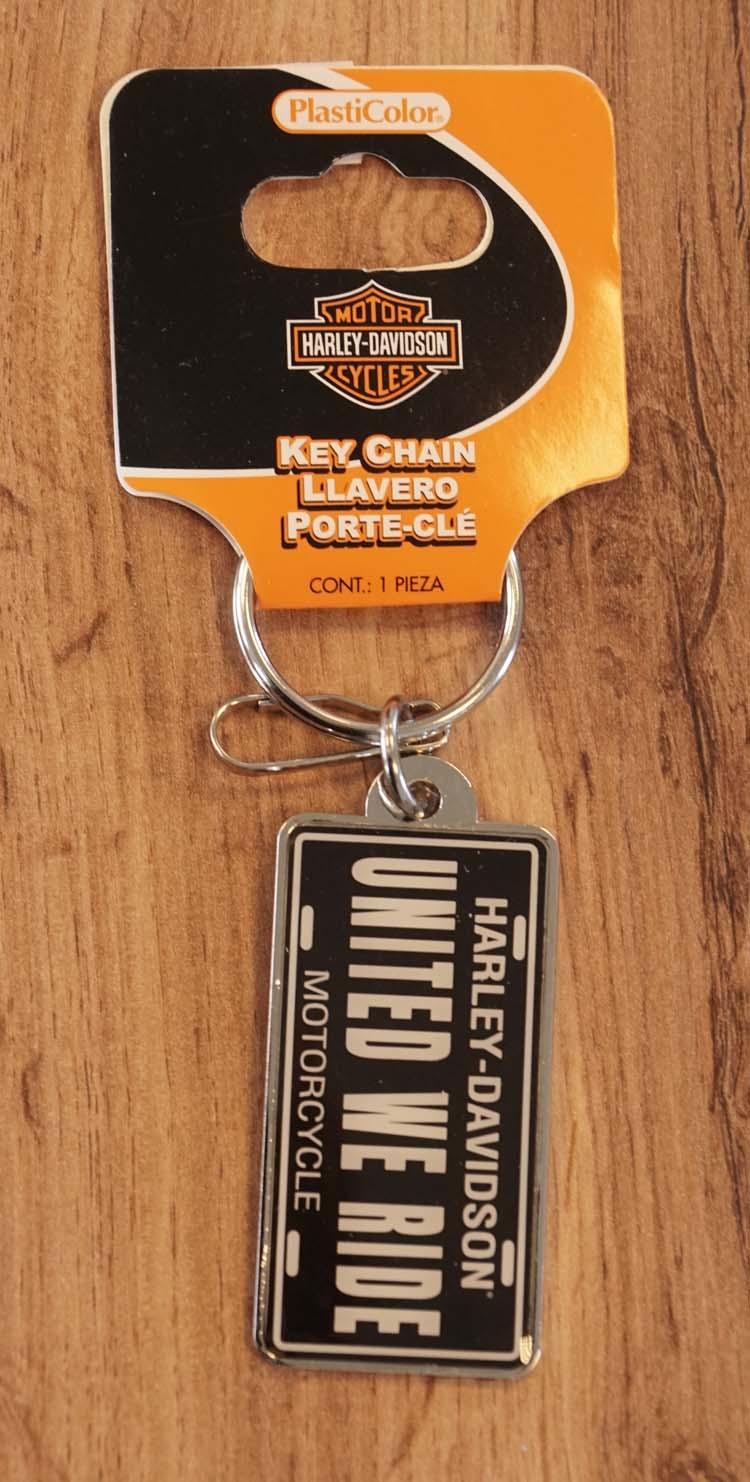 "Sleutelhanger  "" Harley Davidson "" United we ride"