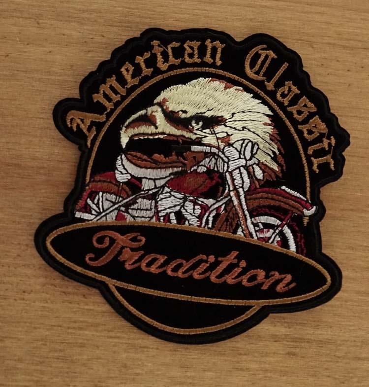 """Strijkapplicatie  """" American classic tradition """""""
