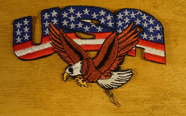 """Strijkapplicatie  """" USA adelaar """""""