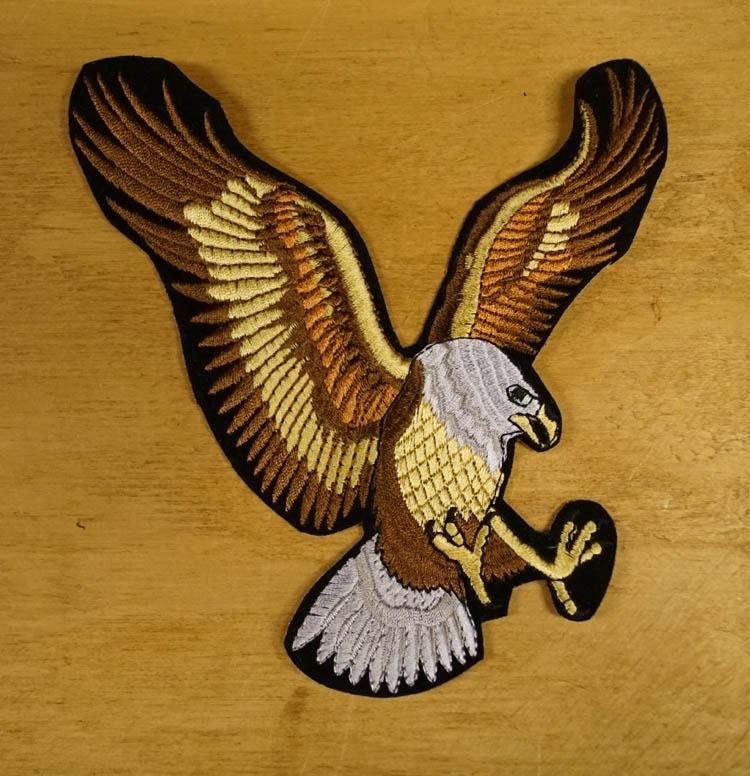 """Strijkapplicatie  """" Vliegende adelaar """""""