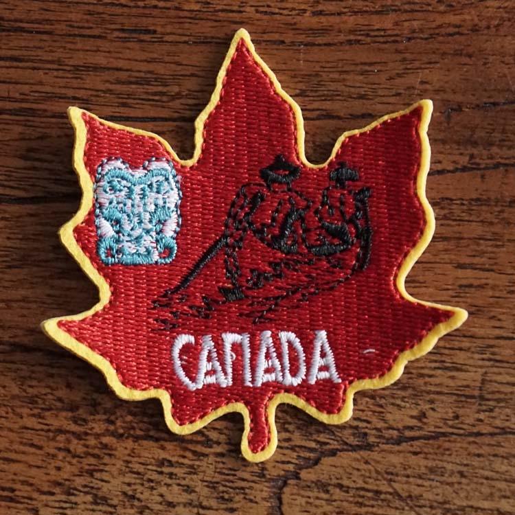 """Strijkapplicatie """" Canada """""""