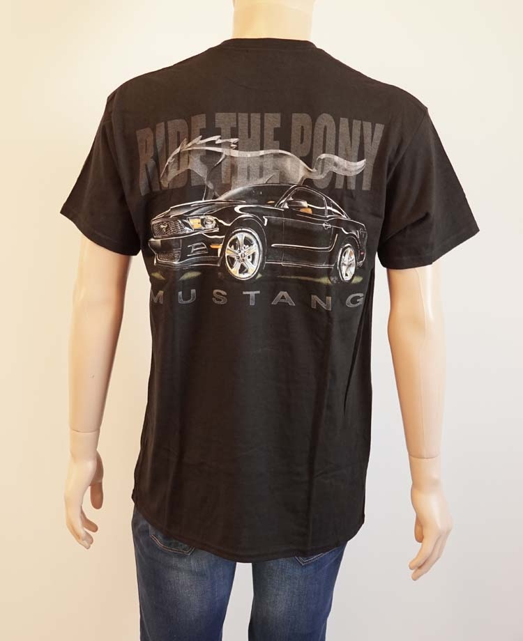 "T shirt met korte mouwen  "" Mustang ride the pony """