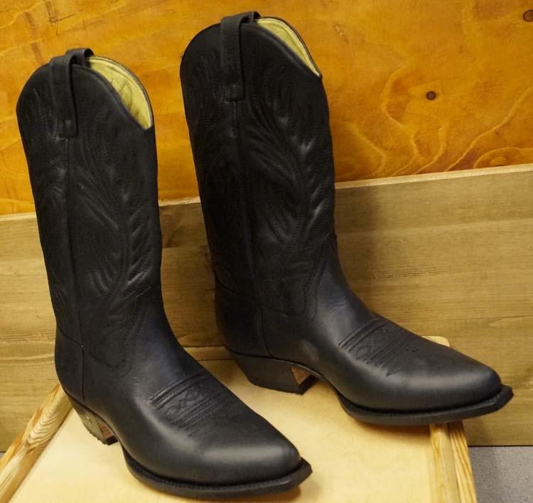 "Western laarzen hoog  "" Loblan ""  Zwart"