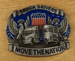 "Riem gesp  "" Truck driver move the nation """