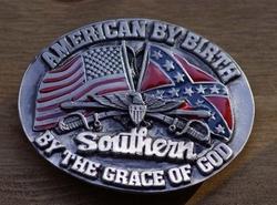 """Gesp """" Als Amerikaan geboren, Zuiderling """""""