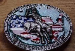 """Western buckle  """" Mustang breaking """""""