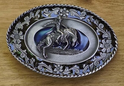 """Western buckle  """" Mustang riding """""""
