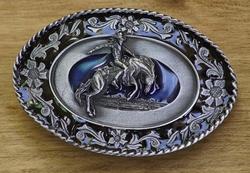 "Western buckle  "" Mustang riding ""  UITVERKOCHT"