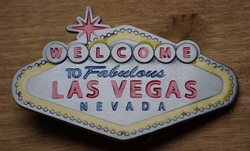 "Belt buckle "" Welkom in sprookjesland Las Vegas"""