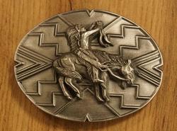 """Buckle """" Rebel + Americaanse vlag, indiaan"""""""