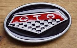 "Verzamel buckle  "" GTO ""   UITVERKOCHT"