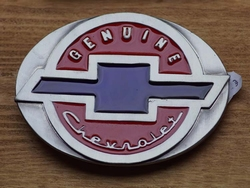 "Verzamel buckle  "" Genuine Chevrolet """
