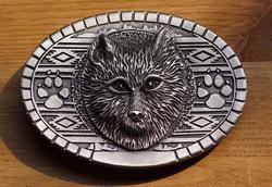"Western gesp  "" Wolf """