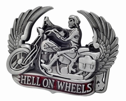 "Motor buckle  "" Hell on wheels """