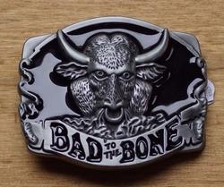 "Motor buckle  "" Bad to the bone """