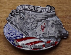 "Gesp buckle   "" The trucker driver """