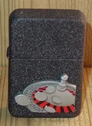 "Aansteker  "" Casino Roulette ""   Zwart"