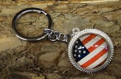 """Sleutelhanger  """"  Americaanse vlag """""""