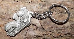 """Sleutelhanger  """"  Harley Davidson Thundering steel """""""