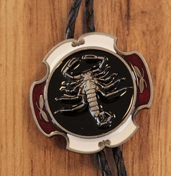 """Bolo tie  """"  End of the trail """"  Indiaan"""