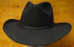 "Cowboy hoed  "" Rebel ""   Zwart"