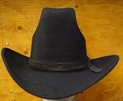 "Cowboy hoed  "" Pigalle ""   Zwart"