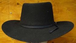 """Cowboyhoed  """" Nashville """"  Zwart"""