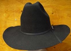 """Western hoed  """" Stars & Stripes """"  Zwart"""