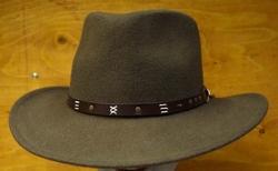 "Hoed outback  "" Leisure felt hat ""  Bruin"