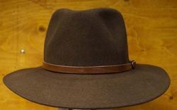 """Cowboy hoed  """" Bruin """""""