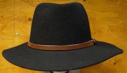 "Cowboy hoed  "" Zwart """